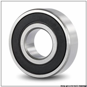25 mm x 52 mm x 15 mm  NACHI 6205N deep groove ball bearings