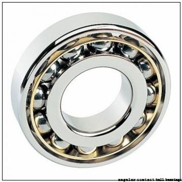 140 mm x 190 mm x 24 mm  NSK 140BNR19S angular contact ball bearings
