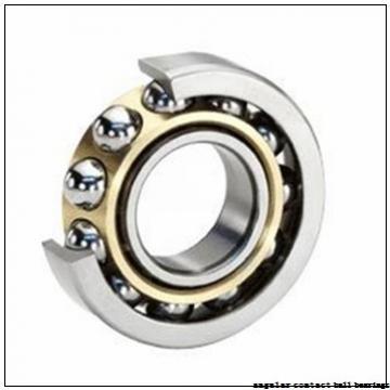 40 mm x 74 mm x 36 mm  PFI PW40740036/34CS angular contact ball bearings
