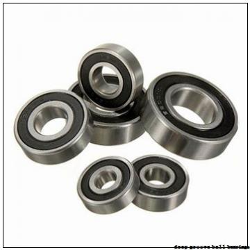 170 mm x 360 mm x 72 mm  NSK 6334 deep groove ball bearings