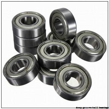 30 mm x 62 mm x 16 mm  FAG 6206-2Z deep groove ball bearings
