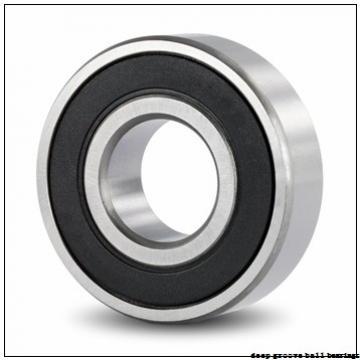 90 mm x 160 mm x 30 mm  KOYO 6218NR deep groove ball bearings