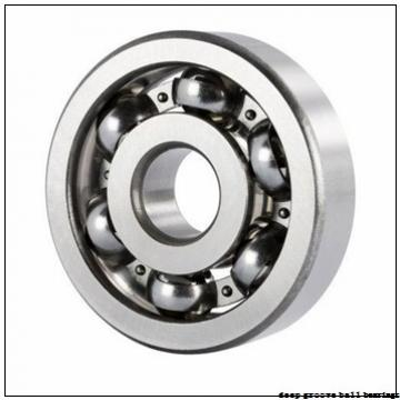 3,175 mm x 9,534 mm x 4,77 mm  Timken F2DD-2 deep groove ball bearings